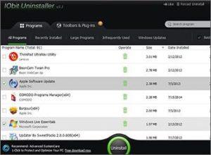 IObit Uninstaller PRO 7.3.0.13 Crack | License Key | Serial Key | Activation Code