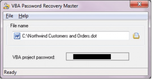 VBA Password Recovery Master 3 Crack+Product Key Free Download
