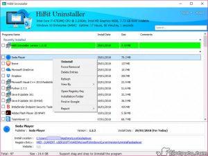 HiBit Uninstaller Crack+Premium Key Free Download